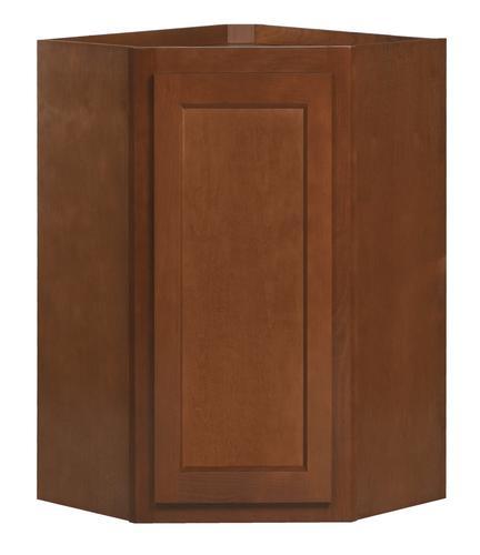 "Kitchen Kompact Glenwood 24 X 36"" Beech Diagonal Cabinet"