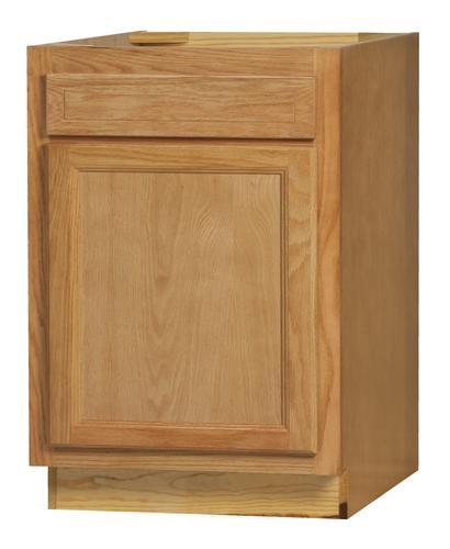 Kitchen Kompact Chadwood 27B Oak Base Cabinet At Menards®