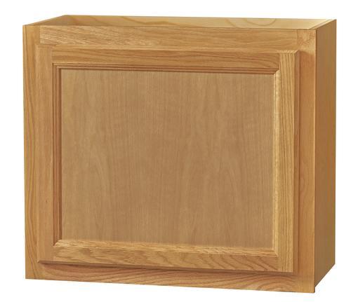 """Kitchen Kompact Chadwood 24"""" X 21"""" Oak Wall Cabinet At"""