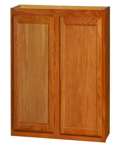 """Kitchen Kompact Chadwood 30"""" X 36"""" Oak Wall Cabinet At"""