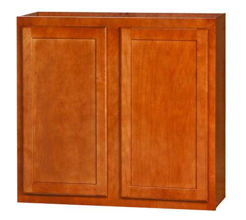 "Kitchen Kompact Bretwood 33"" X 30"" Maple Wall Cabinet At"