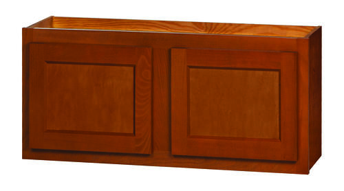 Kitchen kompact glenwood 33 x 15 beech wall cabinet at for Beech kitchen wall cupboards