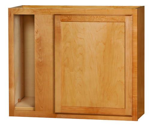 """Kitchen Kompact Mellowood 36WC 36"""" X 30"""" Maple Corner Wall"""