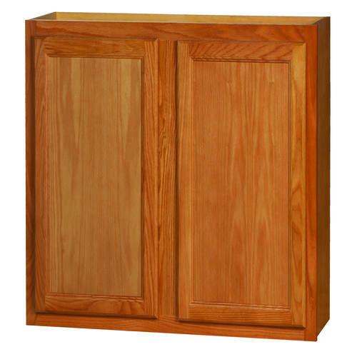 """36 Kitchen Cabinet: Kitchen Kompact Chadwood 36"""" X 36"""" Oak Wall Cabinet At"""