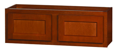 Kitchen kompact glenwood 36 x 12 beech wall cabinet at for Beech kitchen wall cupboards
