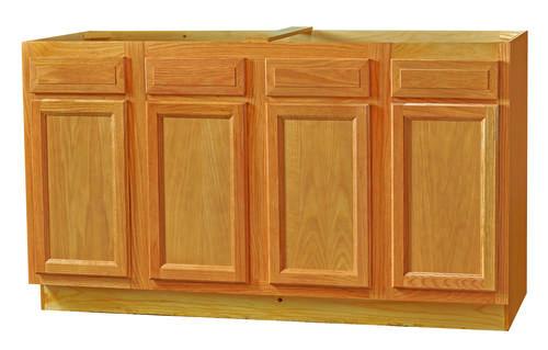 kitchen kompact chadwood 60 oak sink base cabinet at menards. Black Bedroom Furniture Sets. Home Design Ideas