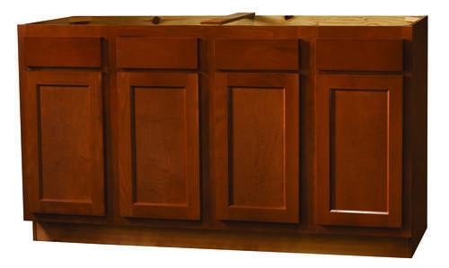 kitchen kompact glenwood 60 beech sink base cabinet at menards. Black Bedroom Furniture Sets. Home Design Ideas