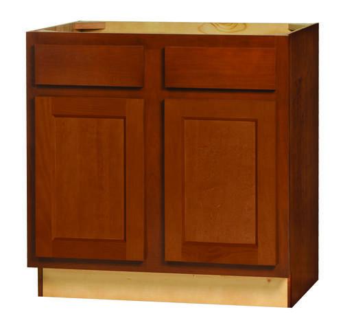 """Kitchen Kompact Glenwood 30"""" X 21"""" Beech Vanity Base"""