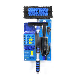Goodyear 8-Piece Complete Car Wash Brush Set