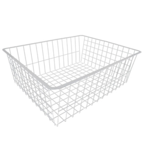 7 u0026quot  white deep wire basket at menards u00ae