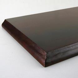 "8"" x 36"" Cherry Decorative Edge Wood Shelf"