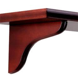 """7"""" Cherry Decorative Wood Corbel"""