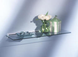 "8"" x 24"" White Glass Shelf Kit"