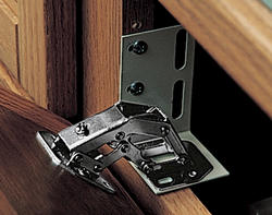 Knape & Vogt Nickel-Plated Deluxe Euro Style Tilt-Tray Hinges