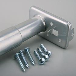 "30 to 48"" Platinum Adjustable Closet Rod"