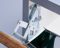Knape & Vogt Zinc-Plated Scissor Hinge - 1 pair