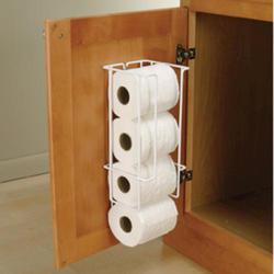 Knape & Vogt Door Mount Toilet Paper Holder