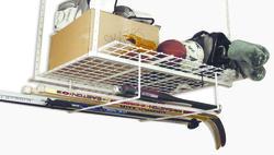 White Add-On Storage Rack