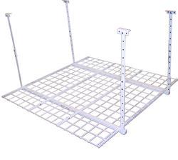"45"" x 45"" White Ceiling Storage Rack"