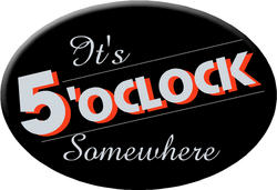 Knockout 'It's 5 O'clock Somewhere' Hitch Cover