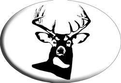 Knockout White Tail Hitch Cover