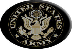 Knockout Army Symbol Hitch Cover