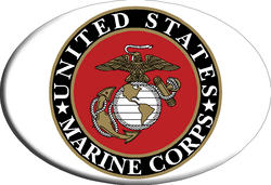 Knockout Marines Symbol Hitch Cover