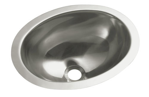 Sterling Oval Single Basin Sink No Faucet Holes At Menards 174