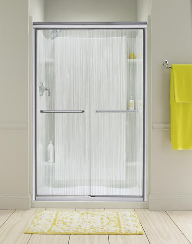 Sterling Finesse Frameless By Pass Shower Door At Menards 174