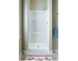 "Sterling Advantage 32"" Shower with Back Wall (End Walls and Base Sold Separately)"