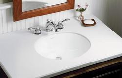 "Sterling Wescott 17"" x 13"" Undercounter Bathroom Sink (No Drill)"