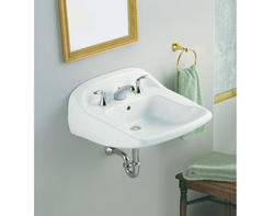 "Sterling Worthington 21"" x 22"" Barrier-Free Bathroom Sink (8"" Holes)"