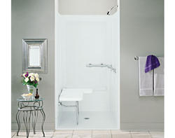 Sterling OC-SS-39-ADA Transfer Shower with Seat on Right
