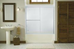 Sterling Deluxe By-Pass Bath Door
