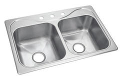 Sterling Southhaven 18-Gauge Stainless Steel Double-Basin Sink