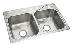 Sterling Southhaven 18-Gauge Stainless Steel X Double-Basin Sink