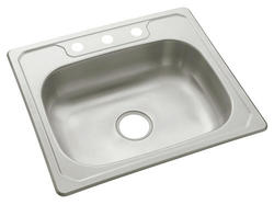 "Sterling Middleton 25"" x 22"" 3-Hole Single-Basin Sink"