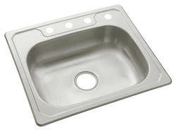 "Sterling Middleton 4-Hole 25"" x 22"" Single-Basin Sink"