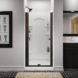 Sterling Finesse Frameless Hinge Shower Door