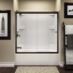 Sterling Finesse™ Frameless By-Pass Bath Door