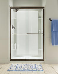 Sterling Finesse Frameless By-Pass Shower Door