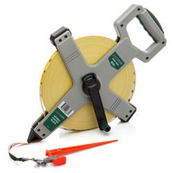 Masterforce® 300' Fiber Reel Tape Measure