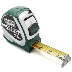 Masterforce® 25' Magnetic Wide Blade Tape Measure
