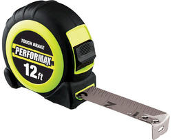 Performax™ 12' Touch Lock Tape Measure