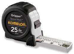 Komelon® Gripper™ 25' Tape Measure