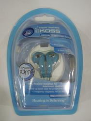 Koss Blueberry Earbuds with Case