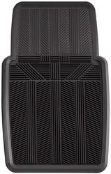 Heavy Duty Rubber Car Mat-Black