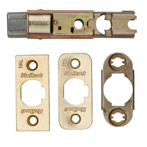 Kwikset Polished Brass Dead Latch At Menards