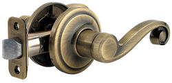 Kwikset Lido Antique Brass Hall/Closet Lever