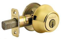 Kwikset 665 Polished Brass Double Cylinder Deadbolt
